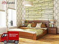 Кровать полуторная Селена Аури с подъемным механизмом