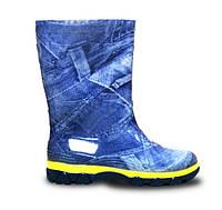 [ Jeans ] Демисезонные детские резиновые сапоги Litma джинс