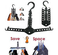 Вешалка органайзер для одежды в шкаф Magic Hanger, фото 1