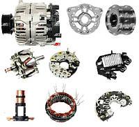 Генератор. Генераторы и их запчасти для Mercedes-Benz Sprinter 2.9 D. Новые AS PL и б/у оригинал.