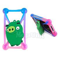 "Чехол-бампер для смартфонов 4"" - 5,3"" Angry Birds Pig"