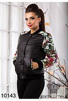 Красивая женская куртка на синтепоне (42-46), доставка по Украине