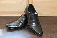 Качественные мужские классические туфли из натуральной кожи Размеры 39-45
