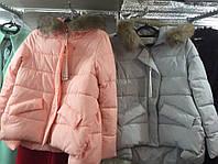 Женская теплая куртка-парка