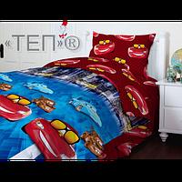 Детское постельное белье Теп комплект подростковый Тачки