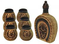 Набор винный Подкова (штоф 1130мл+ 6 стаканов 140мл)
