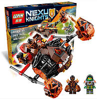 """Конструктор Lepin 14003 Nexo Knight """"Лавинный разрушитель Молтора"""", 198 дет"""