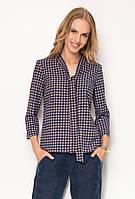 Женская блуза с абстрактным принтом, длинный рукав. Модель Z31 Sunwear. Коллекция осень-зима 2016.