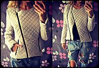 Стеганная куртка косуха женская