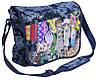 """Отличная сумка через плечо для прогулок """"Sweet Girl"""" Cool for school CF85257 синий/принт"""