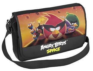 Крутая подростковая сумка на плечо для школы и города Cool for school AB03869 черный/принт