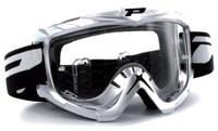 Мотоочки PROGRIP Маска / очки кроссовые Серого цвета BASE LINE NO FOG + ANTISCRATCH PG 3201