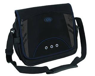 """Суперовая сумка через плечо на каждый день """"Casual"""" Cool for school CF85626 черный"""