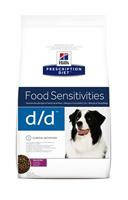 HILL'S (Хилс) Prescription Diet Canine d/d лечебный корм для собак с уткой и рисом 2 кг