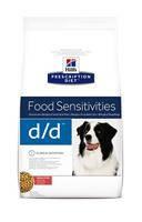 HILL'S (Хилс) Prescription Diet Canine d/d лечебный корм для собак лосось и рисом 12 кг