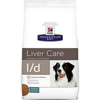 HILL'S (Хилс) Prescription Diet Canine l/d - лечебный корм для собак, заболевания печени 12 кг