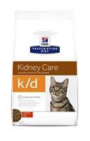 Hills (Хиллс)Prescription Diet Feline k/d - лечебный корм для кошек при почечной и сердечной недостаточности