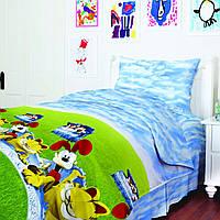 Подростковое постельное белье Гарфилд