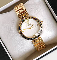 Часы женские наручные Versace золотые , магазин часов