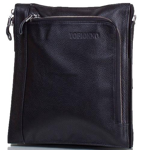 Мужская сумка-планшет из натуральной кожи TOFIONNO (ТОФИОННО) TUW018-4-black черный
