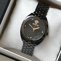 Часы женские наручные Versace черные, магазин часов