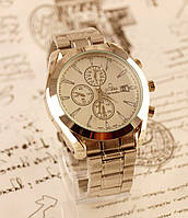 Часы мужские OMEGA Seamaster Steel Таймер Хронограф. Копия!