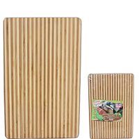 964 доска разделочная бамбуковая 30х20х1,9