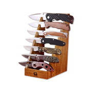 Подставка на 7 ножей-дер Наборы ножей, Нож, Посуда, Набор кухонных ножей, Кухонные аксессуары, Ножи, Ножи кера