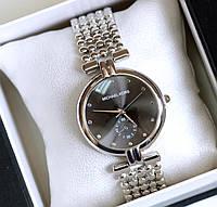 Часы женские наручные Michael Kors Lady серебро с черным , часы дропшиппинг