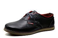 Туфли мужские Clarks Desert Trek, кожаные, спортивные, черные, р. 40 41 42 43 44