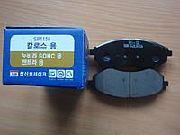 Колодки тормозные передние Hi-Q(Корея) Chevrolet Aveo SP1158