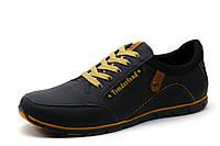 Туфли Timderland, мужские, кожаные, спортивные, черные, р. 40 44 45