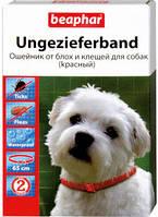 Ошейник против блох и клещей для собак , Красный Беафар, 65 см