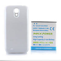 Увеличенная батарея на Samsung Galaxy S4 i9500 на 5600 мА/ч + задняя крышка БЕЛАЯ! SKU0000237