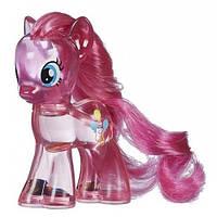 Май литл пони Пинки Пай прозрачная с блестками. Оригинал Hasbro