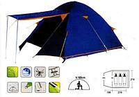 Палатка двухслойная Х-1015 (3-х местная)