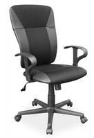 Q-159 офисный стул из эко-кожи SIGNAL