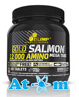 Аминокислоты - Olimp - Gold Salmon 12000 Amino Mega tabs - 300 таб