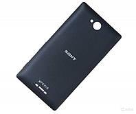 Задняя панель корпуса для мобильного телефона Sony C2305 S39h Xperia C, черная