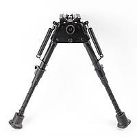 Сошки для оружия Pivot EZ 6-9'' телескопические с механизмом наклона Крепление на стандартный антабочный винт
