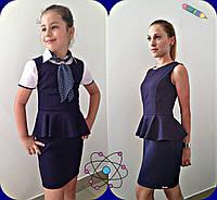 Школьный сарафан для девочки Баска детский\подросток
