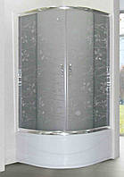 Душевая кабина SANTEH 1021T (100*100*1,95м) поддон 40 см хром/TATIANA