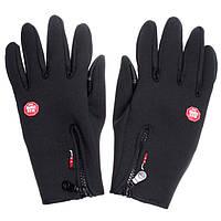 Перчатки Windstopper черные