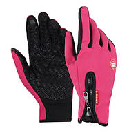 Перчатки Windstopper розовые