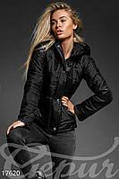 Стеганая женская  куртка на синтепоне