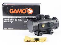 Оптика. Коллиматорный Прицел Gamo Quick Shot 30 mm Red Dot Sight, для пневматики, для охоты