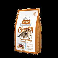 """Брит Кер """"Чики"""" сухой супер-премиум корм для взрослых котов, живущих на улице, с олениной и рисом, 2кг"""