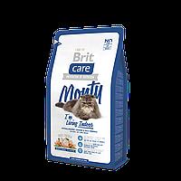"""Брит Кер """"Монти"""" сухой супер-премиум корм для взрослых кошек, живущих в помещении, с курицей и рисом, 2кг"""