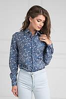 Стильная блуза с трендовым принтом