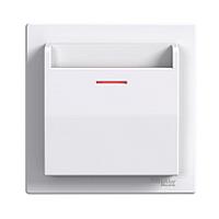 Карточный выключатель Schneider Electric Asfora, белый